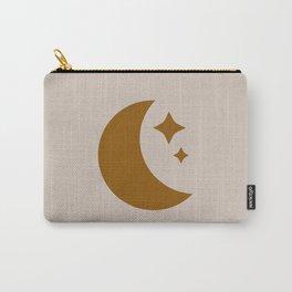 Moon & Stars - Desert Orange Carry-All Pouch