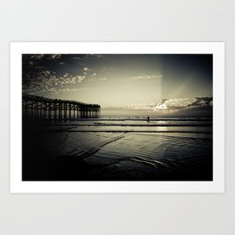 One More Wave Art Print