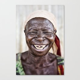 African happiness! Canvas Print