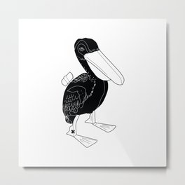 COMMUNIST DUCK Metal Print