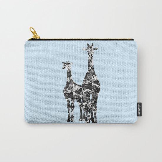 Patchwork Giraffes  Carry-All Pouch