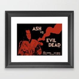 Ash vs Evil Dead Framed Art Print
