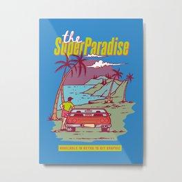 Super Paradise Metal Print