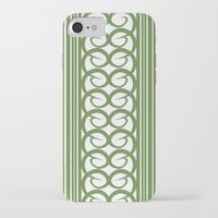 striped iPhone & iPod Cases featuring Striped by Panda