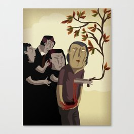 O Filho de Mil Homens Canvas Print