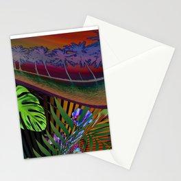 Island Wave by Kenny Rego Stationery Cards