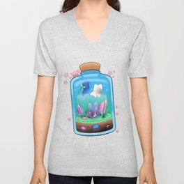 Spiderfly in a Jar Unisex V-Neck