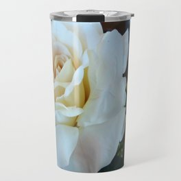 White Rose Travel Mug