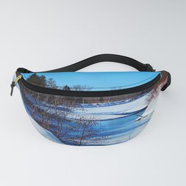 Wonderful River in Spring Fanny Pack