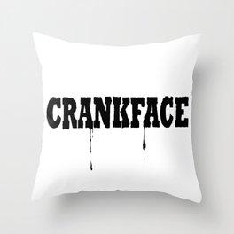 Crank Throw Pillow