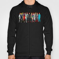 Blue Bowie Group Fashion Outfits Hoody
