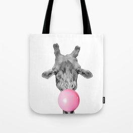 Giraffe bubble Tote Bag
