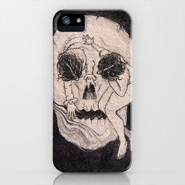 Lady death iPhone Case