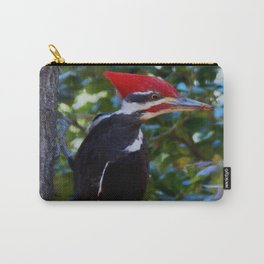 My first Pileated woodpecker! Carry-All Pouch