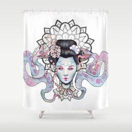 Space Goddess Shower Curtain