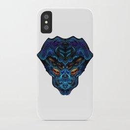 Blue Alien iPhone Case