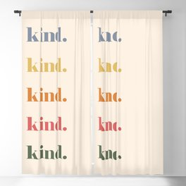 Be Kind Blackout Curtain