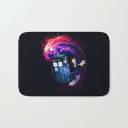 Doctor Who Space Surfing Bath Mat