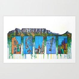 Mother City Art Print