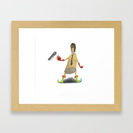 Subway Melt Framed Art Print