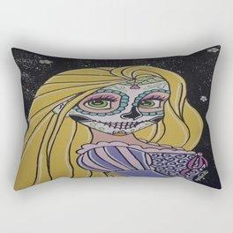 Rupunzel Sugar Skull Rectangular Pillow
