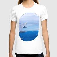 airplane T-shirts featuring Airplane by Gunjan Marwah