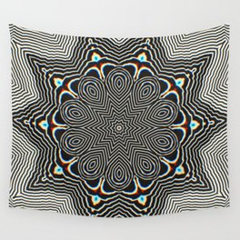 Full Om Mandala Wall Tapestry