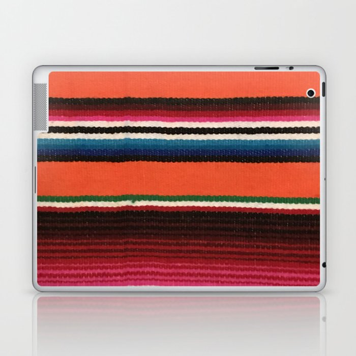 BEAUTIFUL MEXICAN SERAPE Laptop & iPad Skin