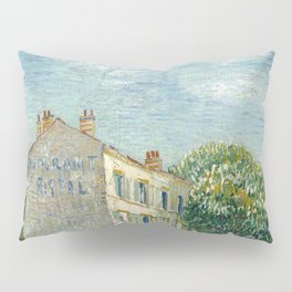 Restaurant Rispal at Asnieres by Vincent van Gogh Pillow Sham