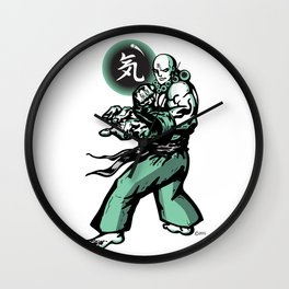 The Monk and The Orb Wall Clock