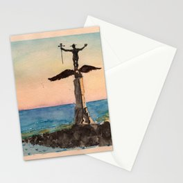 Monument au Soldat Americain Stationery Cards