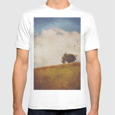 A Beautiful Afternoon Mens Fitted Tee White MEDIUM