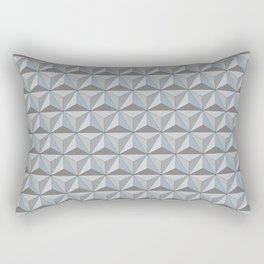 Geodesic Daytime Rectangular Pillow