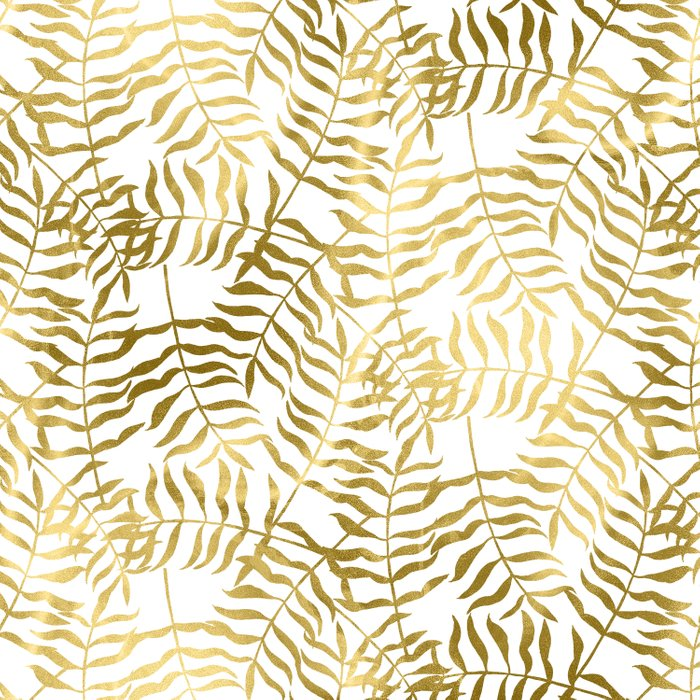 Gold Leaves 2 Comforters