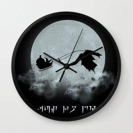 Merry Fus Ro Dah Wall Clock