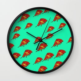All the Pepperonis Wall Clock