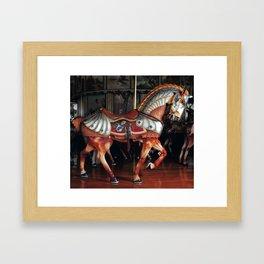 The Armored Horse Framed Art Print