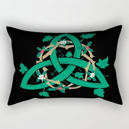 The Holly And The Ivy Rectangular Pillow