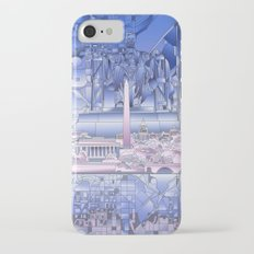 washington dc city skyline iPhone 7 Slim Case