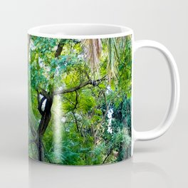 The enchanted woods | Bright tropical forest palm tree exotic green photography Coffee Mug