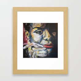 Nina,... More and then Some... Framed Art Print