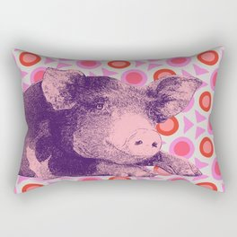 This Little Piggy... Rectangular Pillow