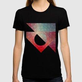 Abstract Geometric Triangulated Design T-shirt