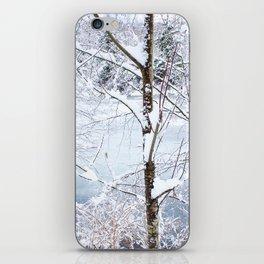 Snowy Trees iPhone Skin