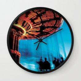 Technicolor Swings Wall Clock