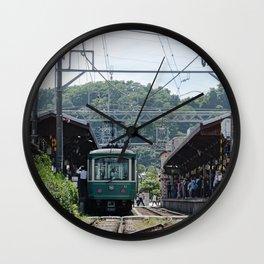 Kamakura Enoden Wall Clock