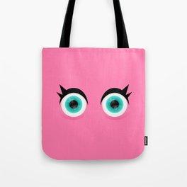 Bright Eyes Tote Bag