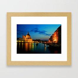 Italy. Venice celebration Framed Art Print