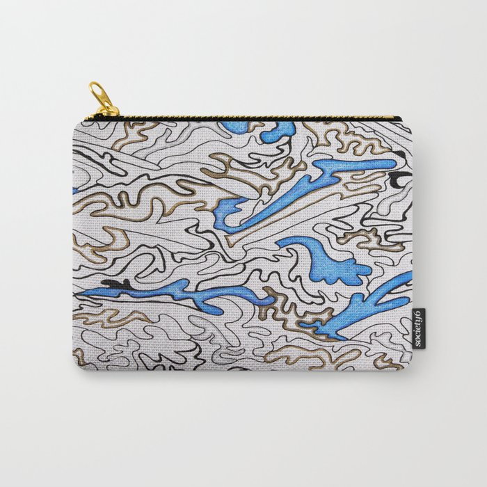 Abstract Pattern #1 Carry-All Pouch