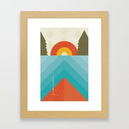 Niangua River Framed Art Print